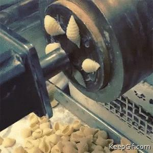 And now you know how conchiglie is made
