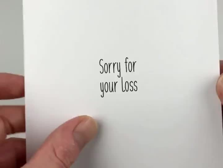 ⁣Coffin Dance- Sorry For Your Loss card