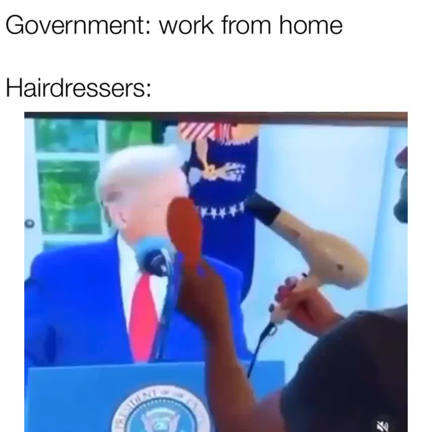 Hairdresser work from home