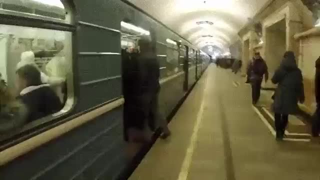 ⁣⁣HMFT after I jump into train