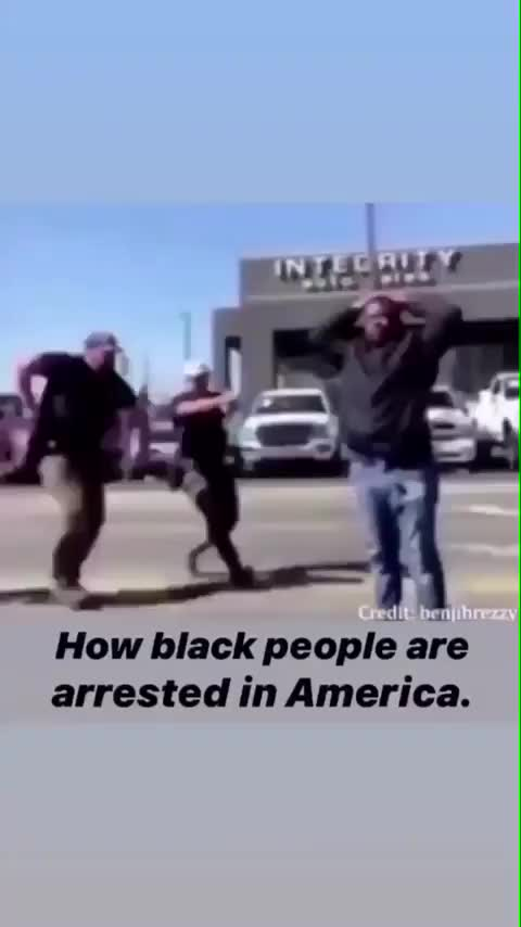 How black pepole are arrested in America