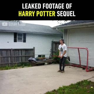 Leaked footage of Harry Potter sequel